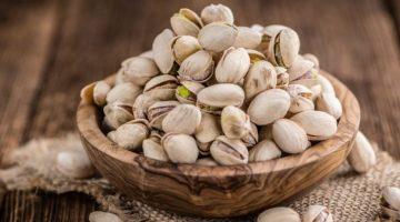 Antep fıstığı: Yüksek protein içerir ve düşük kalorilidir