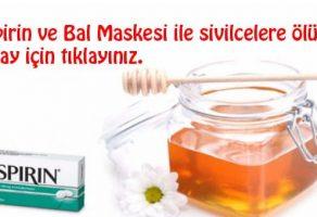Mucize Maskeyle Sivilcelere Ölüm! (Aspirin ve Bal Maskesi)