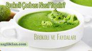 Brokoli Çorbası ve Brokoli Faydaları