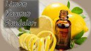 Limon Yağının Faydaları