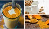Anti-Enflamatuvar Zerdeçal Ve Badem Sütü İçeceği